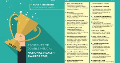 Recipients of Double Helical  National Health Awards 2018